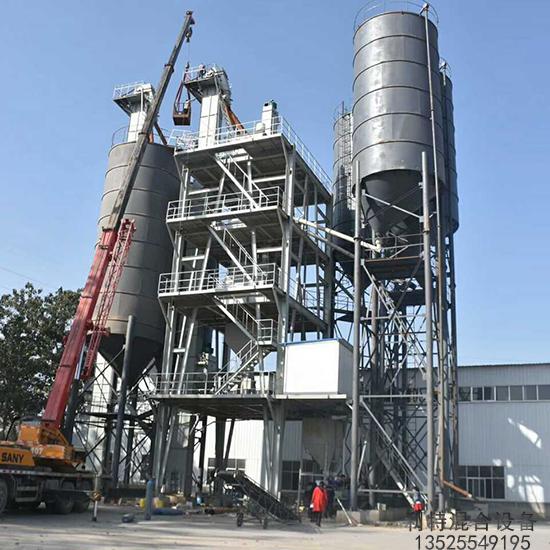 日产500吨砂浆生产线配置