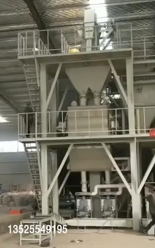 时产30吨腻子粉全自动生产