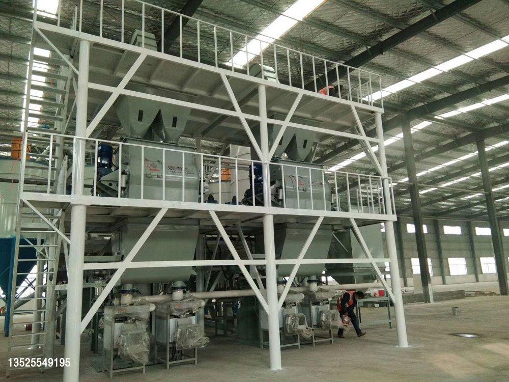 LT--全自动干粉砂浆生产线