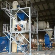 时产20吨粉刷石膏设备